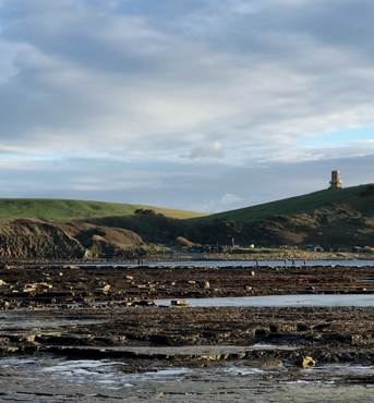 Kimmeridge Bay Clavell Tower